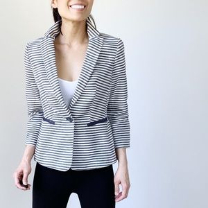 THE LIMITED Striped Office wear blazer